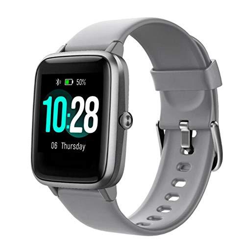 Pulsera Inteligente, Reloj Inteligente con Pantalla táctil de 1.3 ', rastreadores de Actividad física con Monitor de frecuencia cardíaca, -B