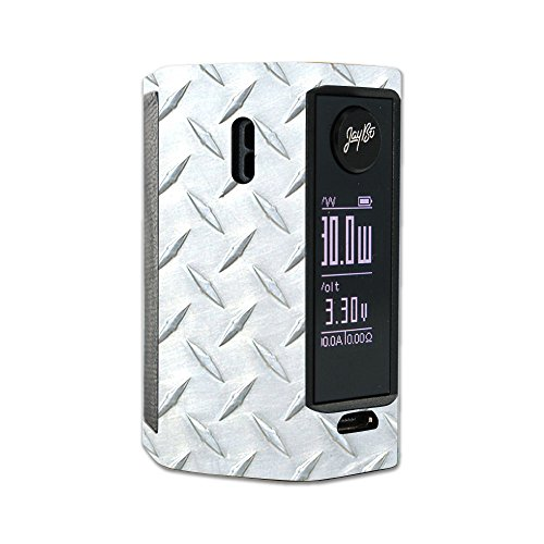 MightySkins Skin Compatible with Wismec Reuleaux RX Mini – Diamond Plate | Protective, Durable, and Unique Vinyl Decal wrap Cover | Easy to Apply, Remove, and Change Styles | Made in The USA