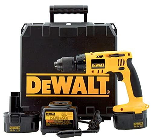 DEWALT DW996KV-2 14.4 Volt 1/2-Inch Cordless Hammerdrill Kit with Vehicle Charger (2 Batteries)
