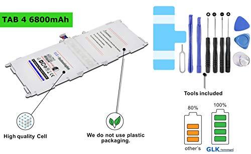 !BLITZVERSAND! Original GLK-Technologies® / Akku mit 6800 mAh/für Samsung Galaxy Tab 4 / (T530 SM-T530NU T535) inkl. Werkzeugset kit