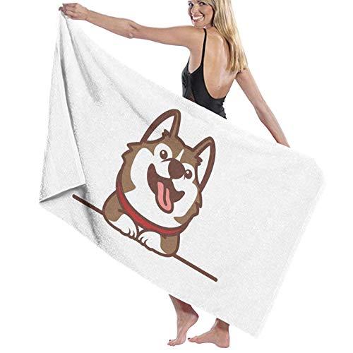 Toallas de baño de secado rápido suave para la playa y la ducha de 130 x 80 cm