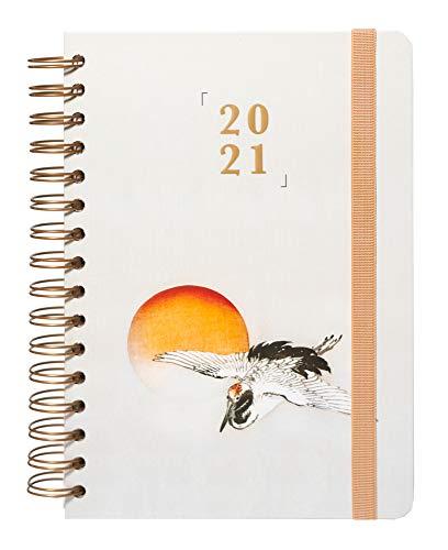 Grupo Erik Terminkalender Japan - Kalender für 2021 A5 - Planer mit Wochenansicht