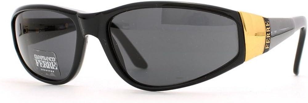 Gianfranco ferrè,black square certified vintage, occhiali da sole per donna 310