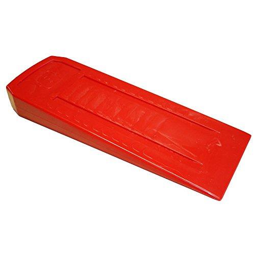 RocwooD Cale de Coupe en Plastique pour tronçonneuse Double Conique 17,8 cm, Solide, Durable et léger
