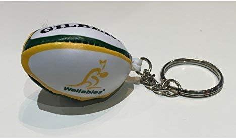 Gilbert New popularity Australian 1 year warranty Wallabies Rugby Ring Key Ball