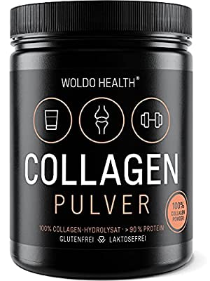 Collagen Beef Protein Powder 500g - Tasteless and odorless Halal with Spoon