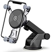 [All-New] BESTHING 7.5W & 10W Wireless Charger, Dashboard & Windshield Car Mount, Cell Phone Holder, 10W Compatible for Samsung Galaxy S10/S9//S8/Note 8, 7.5W Compatible for iPhone Xs Max/Xs/XR/X/