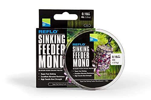 Preston Innovations Reflo Sinking Feeder Mono Line 150m