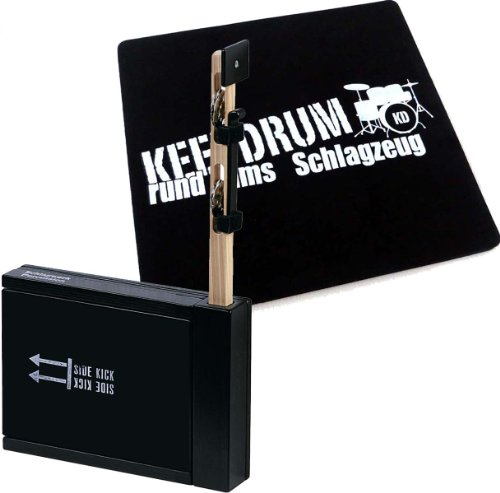 Schlagwerk SET 75 Heck Stick/Side Kick + keepdrum Cajon Pad