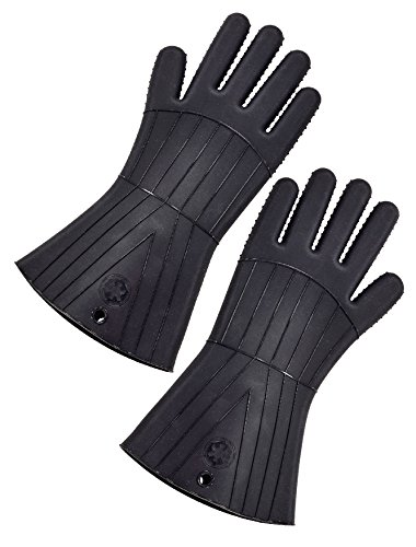 Star Wars The Force Awakens Oven Gloves: Silicone: Darth Vader (2-PK), Noir, 35,4 x 16,88 x 2,1 cm