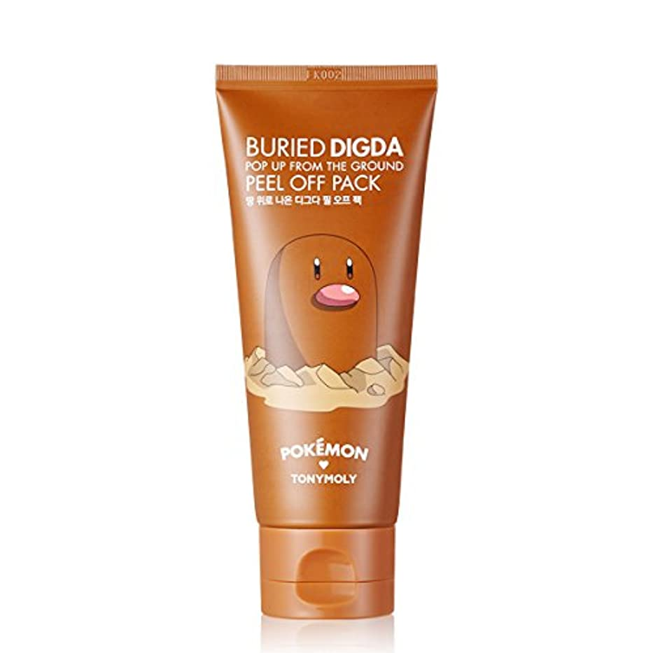 TONY MOLY BURIED DIGDA (Diglett) POP UP FROM THE GROUND PEEL OFF PACK Pokemon Edition トニーモリー?ブレイド?ディグダ?ピンク?アップ?アース?ピール?オフ?パック [並行輸入品] ポケモン エディション