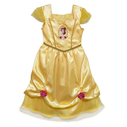 Disney Belle Sleep Gown for Girls – Beauty and The Beast, Size 7/8