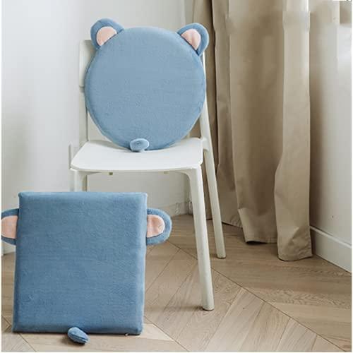 JDHANNE Cojines de cama, lindos cojines de dibujos animados, cojines de silla de oficina para estudiantes, alfombrillas de tatami, adecuadas para oficinas, dormitorios, restaurantes