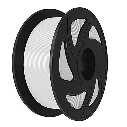 Finebrand Pluma Filamento Carrete 1,75 Mm Pla Impresión 3d Filamento Recargas 3d Los Consumibles De Impresión De La Impresora 3d Pluma Blanca 1kg