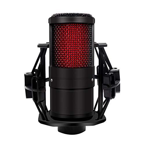 Diaod Micrófono de Condensador para teléfono móvil, computadora portátil, trípode de Uso Directo de 3,5 MM para transmisión, grabación, Karaoke