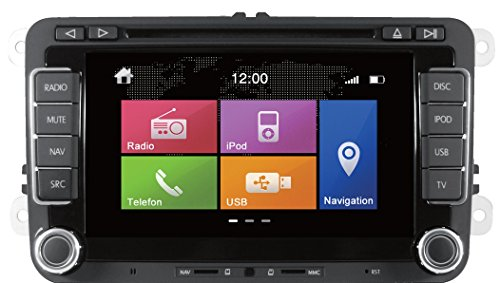 Dynavin DVN-VW N6 Navigationsgerät inkl. Navigationssoftware