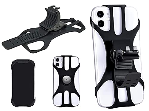 Carall - Soporte universal para teléfono móvil de bicicleta, para manillar de...