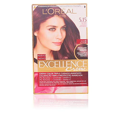 L'Oréal Paris Excellence Coloración Crème Triple Protección 5,15