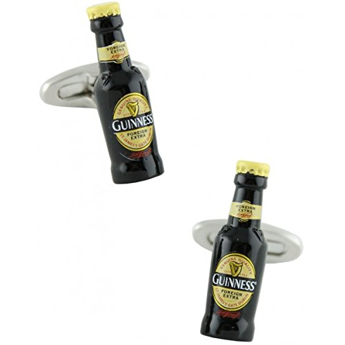 MasGemelos - Gemelos Botellín Cerveza Guiness Cufflinks