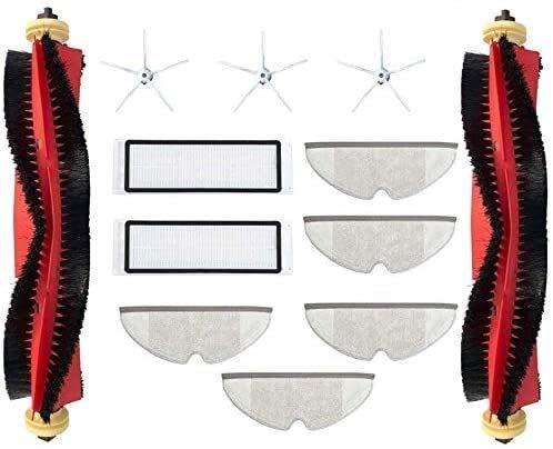 Kit de accesorios de vacío para el hogar y la cocina 12 unidades robot Partes de aspirador filtros HEPA cepillo principal accesorios para S4 S5MAX robot piezas