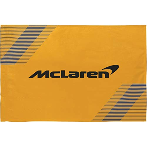 McLaren - Offizielle Formel 1 Merchandise 2021 Kollektion - Damen und Herren - Flag 90 X120 - Flag - Orange - One Size