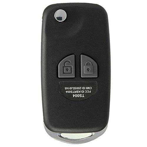 YONGYAO 2 Btn Remote Flip Klappschlüssel Shell Case Kit Für Suzuki Ignis Swift Grand Vitara