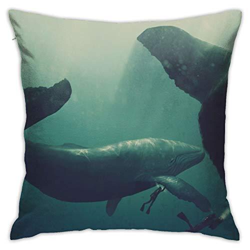 Affordable shop Juego de funda de almohada decorativa para tableta, para regalo, hogar, sofá, cama, coche, 45,72 x 45,72 cm