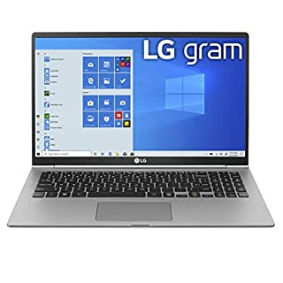 "LG Gram Laptop - 15.6"" Full HD IPS, Intel 10th Gen Core i5 (10210U CPU), 8GB DDR4 2666MHz RAM, 512GB NVMeTM SSD, Up to 21 Hours Battery, Intel UHD Graphics - 15Z995-U.ARS6U1 (2020) (B086Z2FTLR) 