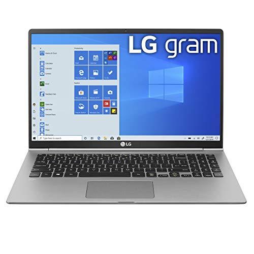 LG Gram Laptop - 15.6' Full HD IPS, Intel 10th Gen Core i5 (10210U CPU), 8GB DDR4 2666MHz RAM, 512GB NVMeTM SSD, Up to 21 Hours Battery, Intel UHD Graphics - 15Z995-U.ARS6U1 (2020)