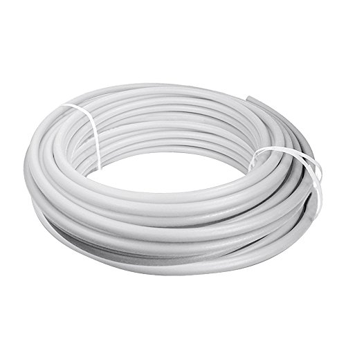 Supply Giant QGX-X34500 PEX Tubing for Potable Water, Non-Barrier Pipe 3/4 in. x 500 Feet, White, 3/4 Inch
