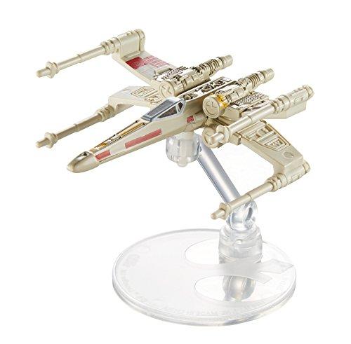 Hot Wheels Star Wars X-Wing Fighter Rd Five mit Aufsteller - Star Wars Rebellen X Wing Flieger