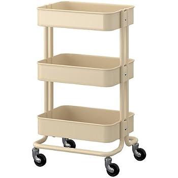 IKEA RASKOG – carrito, Beige – 35 x 45 x 78 cm: Amazon.es: Hogar
