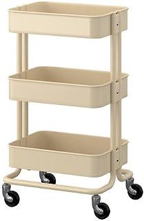 Ikea RASKOG–Carrito, Beige–35&