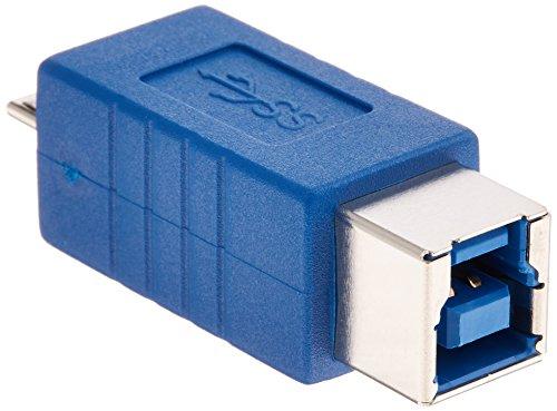 変換名人 USB3.0接続ケーブル B(メス) - micro(オス) USB3BB-MCA