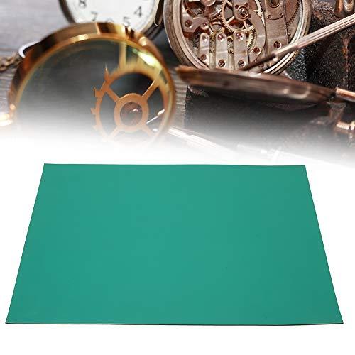 Cerlingwee Alfombrilla de reparación de Relojes, Alfombrilla de Trabajo de reparación de Relojes, Antideslizante para reparación de Relojes Trabajadores de reparación de Relojes Relojeros Fabricación