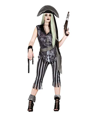 Horror-Shop Gruseliges Piratin Geister Kostüm One Size
