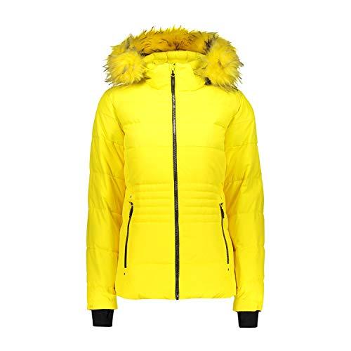 CMP Damen Skijacke Jacke, Yellow, 42