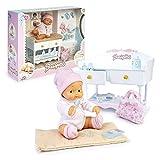 los Barriguitas - Cambiador para bebé, incluye una muñeca barriguitas de...