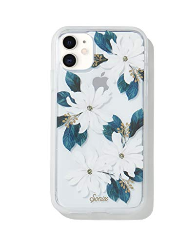 Sonix Delilah Flower Case for iPhone 11 [10ft Drop Tested] Women's Protective White Floral Clear Case for Apple iPhone 11