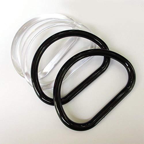 Coner Plastic Zakken Handvat Vervanging Handtas Portemonnee Tote Accessoires Zwart Doorzichtige Handgemaakte Tassen Riemen Riem, Zwart D