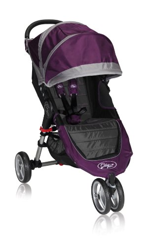 Baby Jogger Poussette 3 Roues City Mini Single 2012 Pourpre