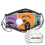 Best & Set de carteles para Halloween Venta de algodón reutilizable y lavable, cara de nariz y máscara nasal, con filtro de ventilación