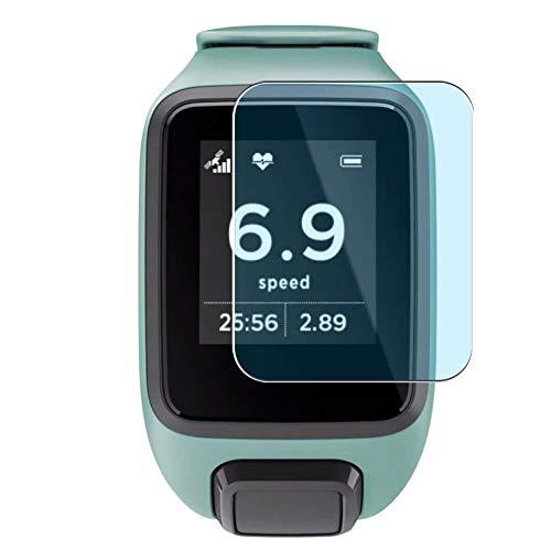 Vaxson 3 Unidades Protector de Pantalla Anti Luz Azul, compatible con TomTom Spark 3/Spark 3 Cardio Smartwatch Hybrid Watch [No Vidrio Templado Carcasa Case ] Película Protectora Film Guard