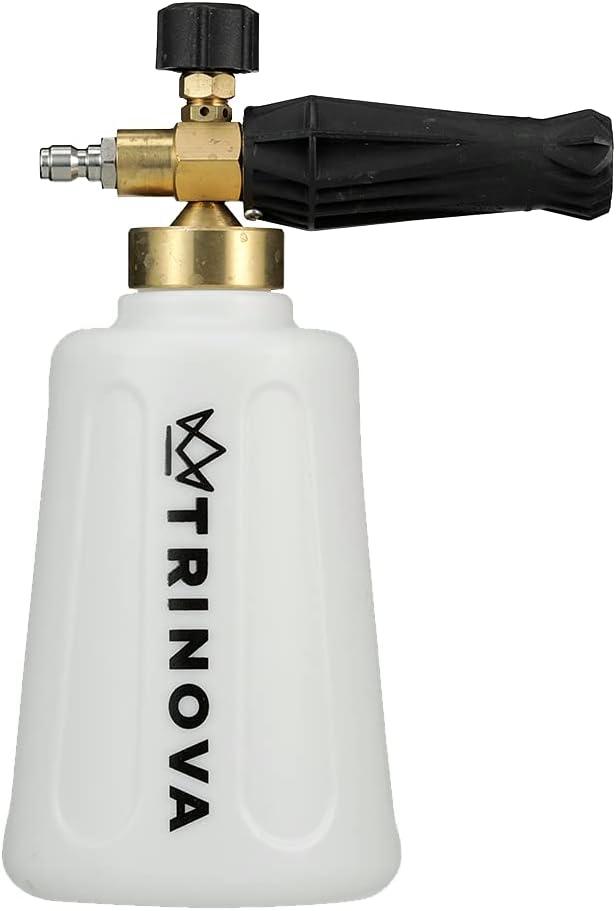 TriNova Foam Cannon and Gallon Car Wash Soap Kit Best Set for Detailing Trucks or SUVs (Foam Gun Only): Automotive
