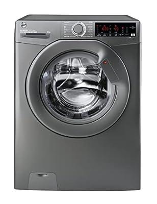 Hoover H3W69TMGGE/1-80 9Kg 1600 Rpm Freestanding Washing Machine, Graphite