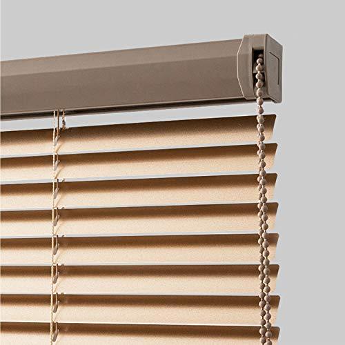 ZXD Persiana De Aluminio, Oficina En Casa Listones De Cifrado Persianas con Pull Bead Control, Visibilidad De Luz Y Protección contra El Deslumbramiento (Color : A, Size : 140x160CM)