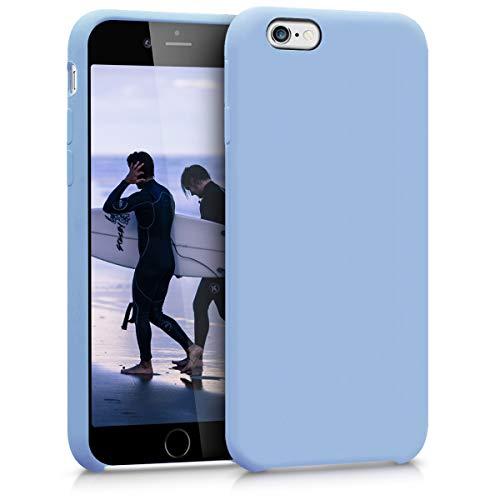 kwmobile Coque Compatible avec Apple iPhone 6 / 6S - Coque - Housse de téléphone Bleu Pastel