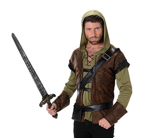 Karnival Costumes - Robin Hood Waldjäger Kostüm für Herren Taille M