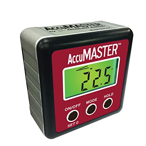 Calculated Industries 7434 AccuMASTER 2-in 1 Magnetic Digital Level and