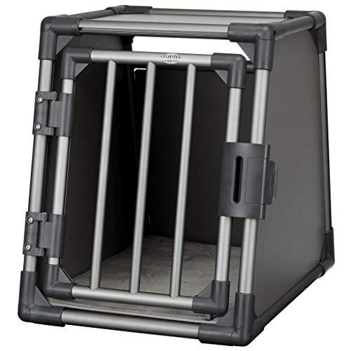 Trixie 39335 Transportbox, Aluminium, S: 48 × 56 × 61 cm, graphit